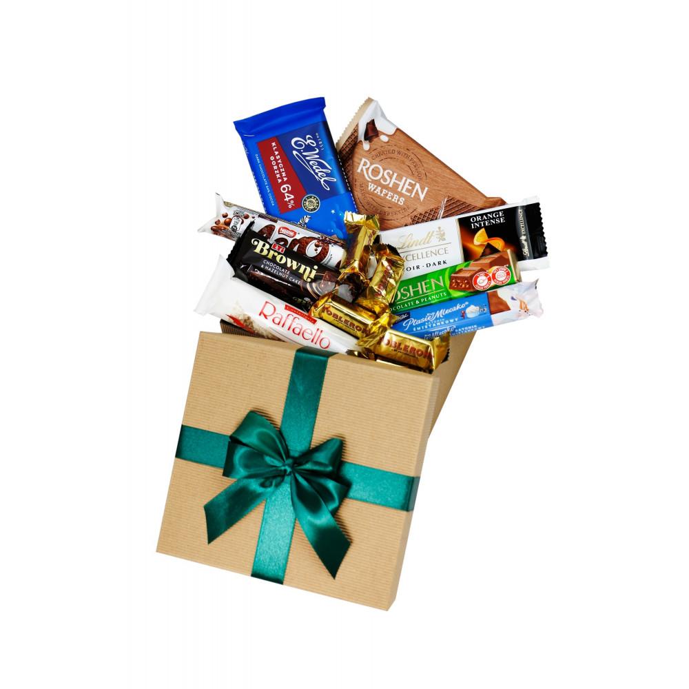 Mini Box Słodkości dla Taty