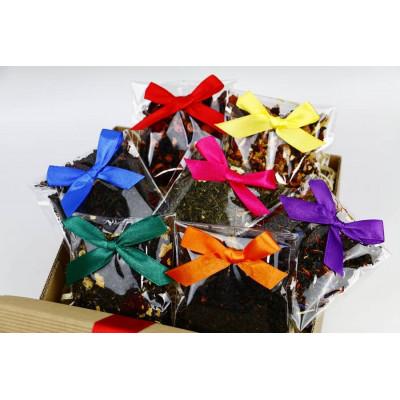 Box z aromatycznymi herbatami