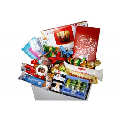 Box Ślubny ze słodyczami, herbatą i dżemikami