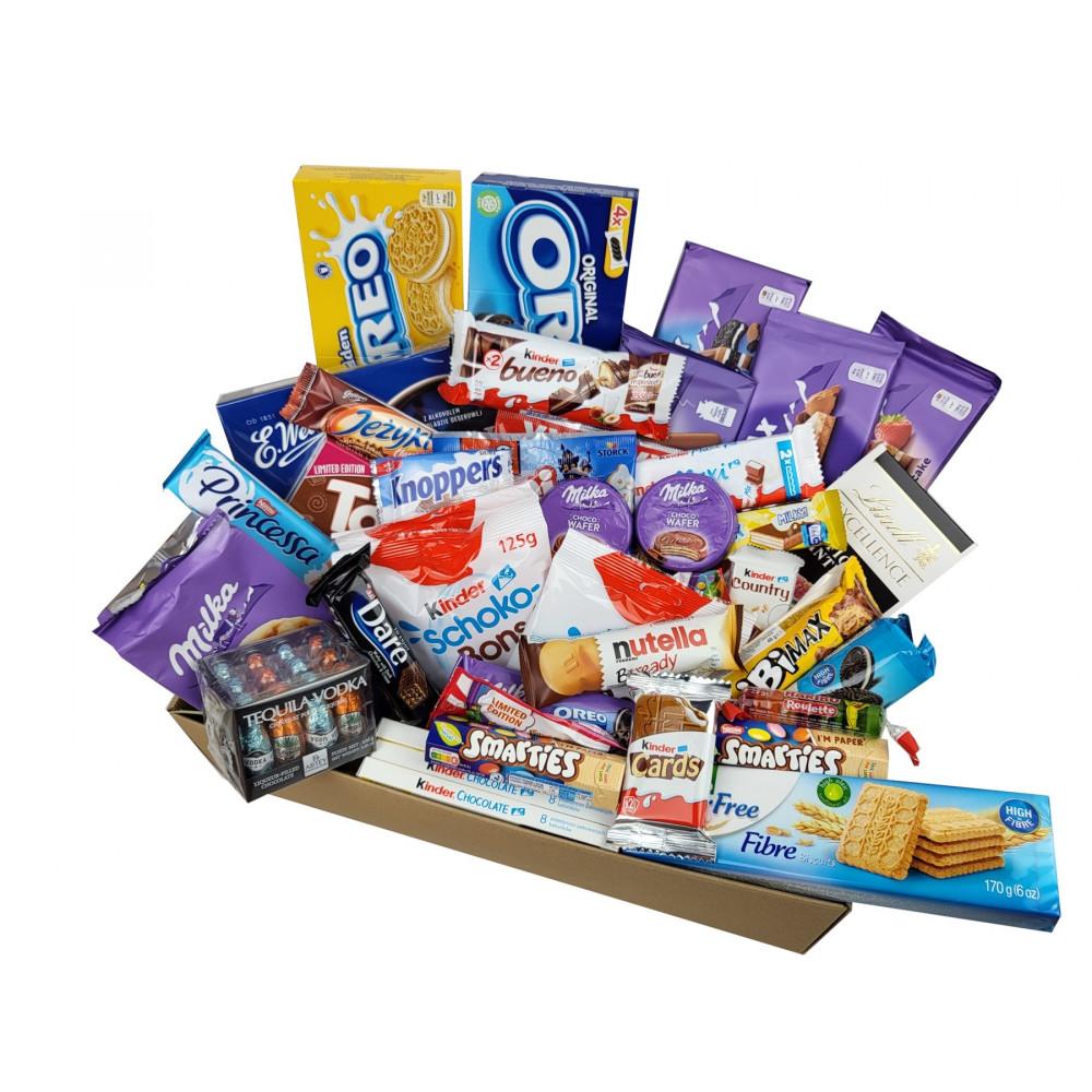 Zestaw słodyczy XXL