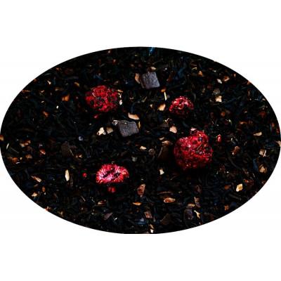 Herbata czarna Czekolada z Malinami