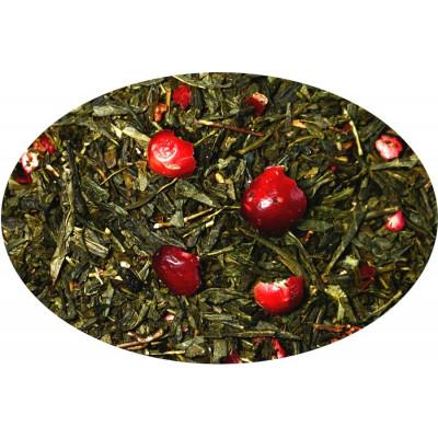 Herbata zielona Sencha Californication Żurawina Truskawka